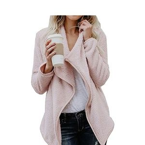 Tops - ️ Blush Pink Open Front Cardigan
